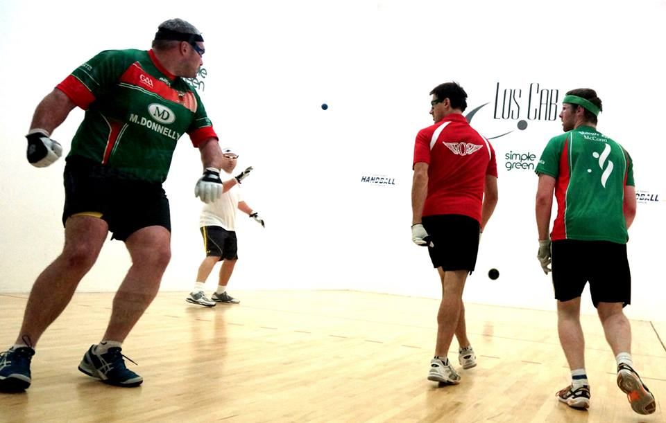 All Ireland 60x30 handball semi finals 2014