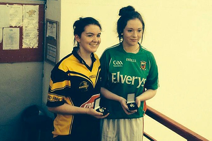 Swinford handball clubs Jennifer Fahey wins Silver